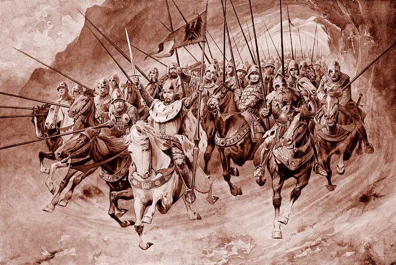 A Blaničtí rytíři povstali. Věnceslav Černý / Wikimedia.