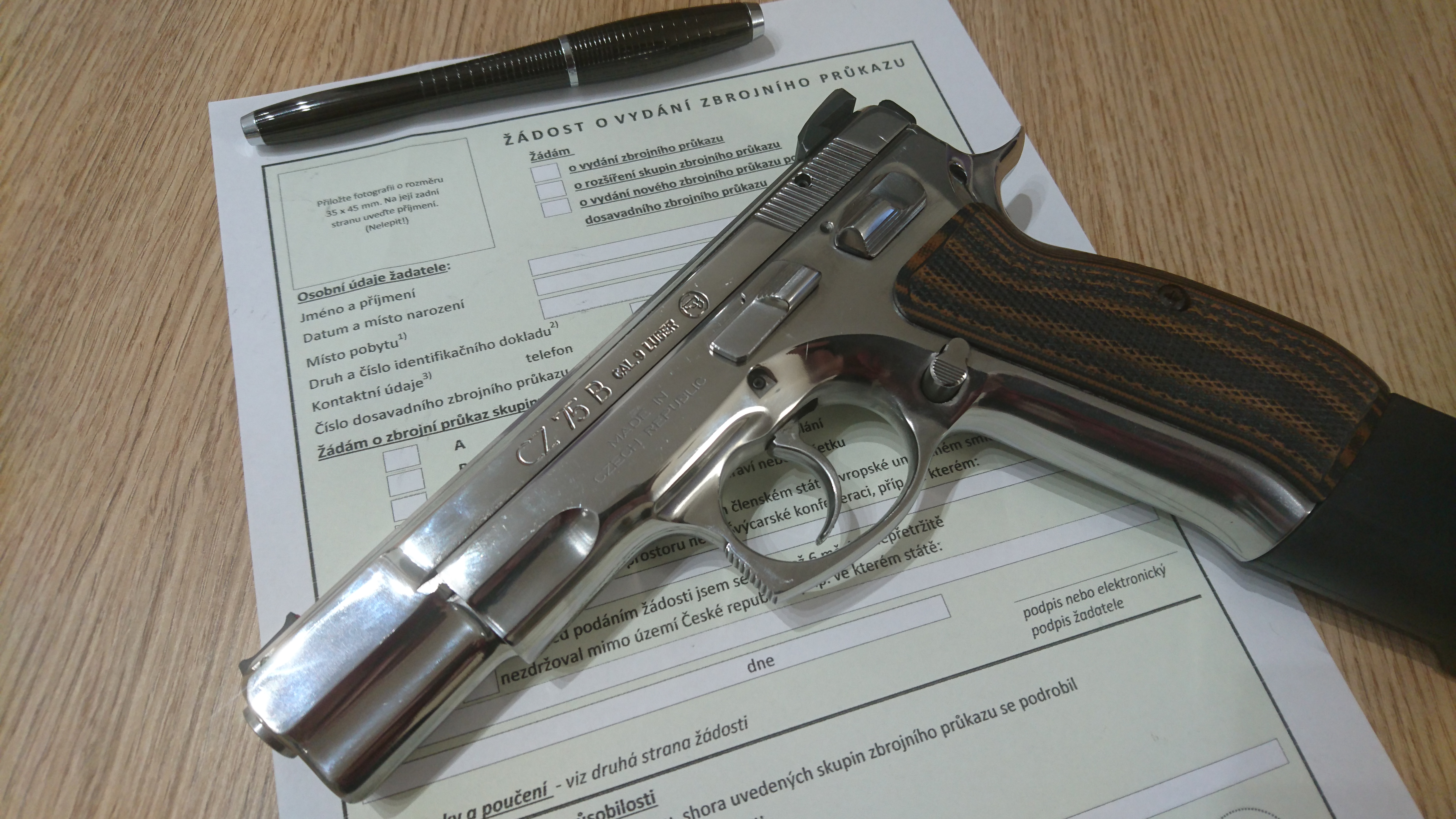 CZ 75 Stainless
