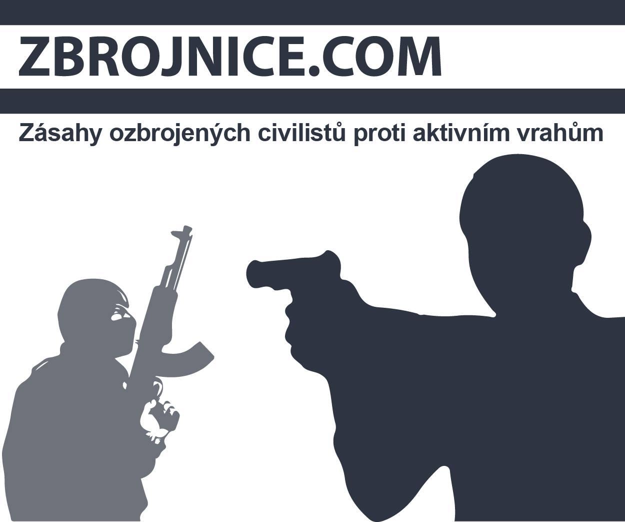 Zbrojnice.com - zásahy ozbrojených civilistů proti aktivním vrahům